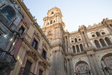 Cathedral of Malaga, Andalusia, southern Spain