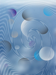 abstrakter blauer Hintergrund Muster