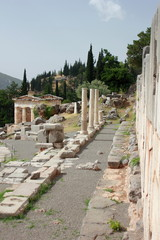 Ancient Delphi Archaeological Site
