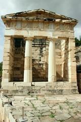 The Athenian Treasury at Ancient Delphi