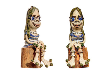 Garden figure woman gnome
