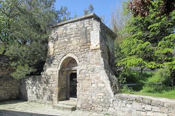 Ancient portal next to the church of Saint Sarkis