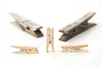 Tweezers and clothespins