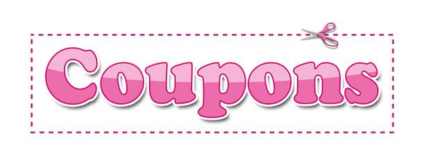 Coupons Pink Scissors