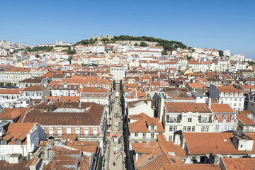 Overview of Lisbon, Portugal