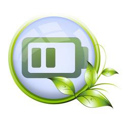 Icone naturel : batterie