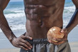 Lean abs and coconut