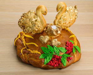 Karavay - Russian traditional bread
