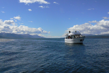 Navegacion por el Canal de Beagle