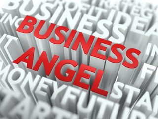 Business Angel - Wordcloud Concept.