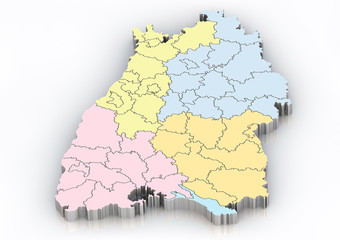 Bundesland: Baden Württemberg Landkreise