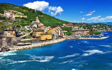 Portovenere - beautiful town in Ligurian coast of Italy