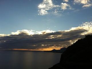 Sunset in Madeira Island