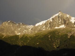Los Alpes desde Chamonix