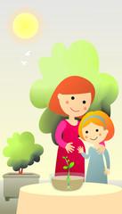 Explicación del embarazo a los hijos