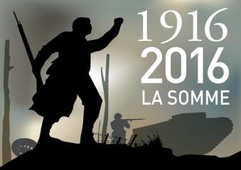 CENTENAIRE 14-18 La Somme