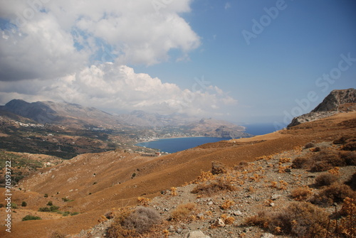 Leinwanddruck Bild Kreta Crete Küste Südküste Griechenland Greece Europa Europe