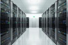 Serwerownia w centrum danych