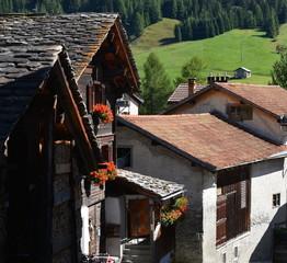vieux village alpin...splügen