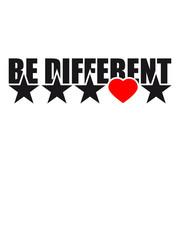 Be Different Sterne Herz Liebe Form Symbole