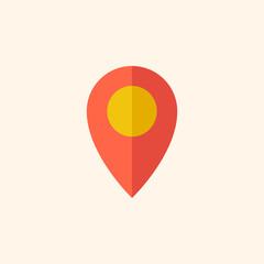 Map. Travel Flat Icon