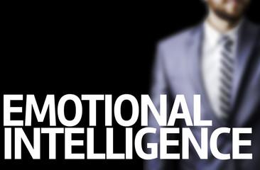Emotional Intelligence written on a board