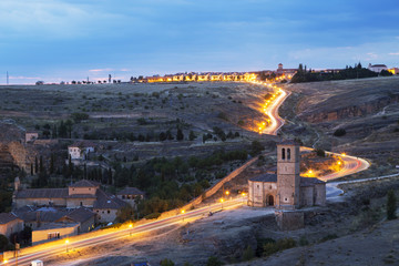 Vera Church, Segovia, Spain.