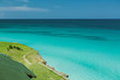 Leinwanddruck Bild - Natural gorgeous view of tranquil clear waters of ocean