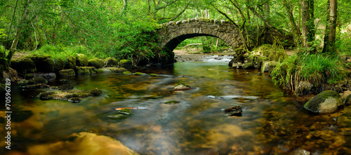 Aluminium Rivier Dartmoor Bridge