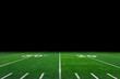 Football field with copy space - 70597733