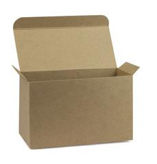 photo of open cardboard box