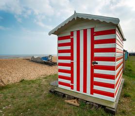 Stripey Beach Hut