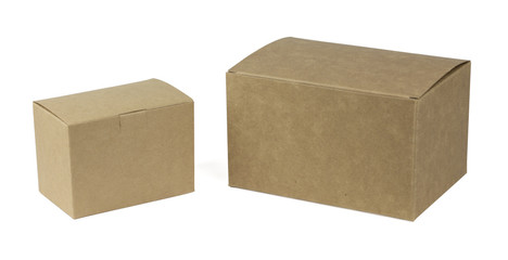 photo of cardboard boxes
