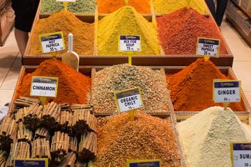 gewürz, bazar, pfeffer, safran, orientalisch, istanbul