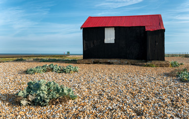 Red Hut on Rye beach