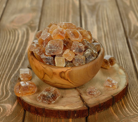 caramelized sugar in a bowl