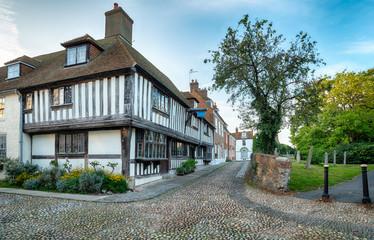 Cobblestones and Tudor Houses