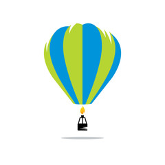 Air balloon sign
