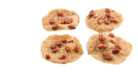 Traditional Malaysian Javanese Peanut Cracker