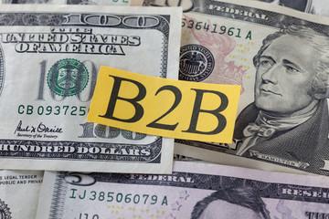 B2B on Dollar Bills (Business to Bisness)