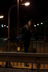 Suicide on a viaduct