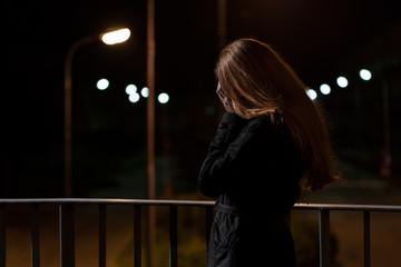 Feeling depression on a bridge