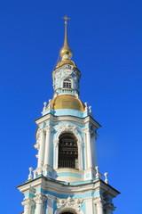 колокольня Никольского собора. Фрагмент