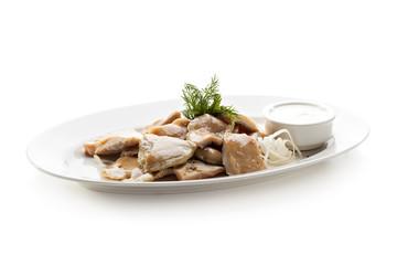 Salted Mushrooms