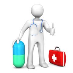 Manikin Doc Pill