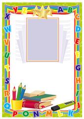 frame for school
