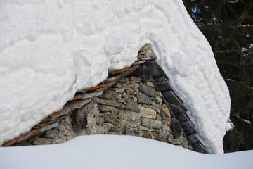 mountain hut chalet