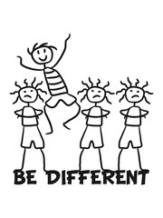 Happy Funny Boy Be Different