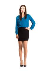 Confident modern business woman