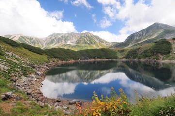 立山ミクリガ池